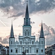 St Louis Cathedral in New Orleans LA